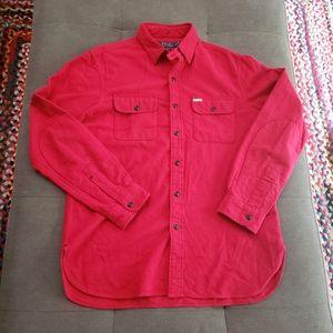 Polo Ralph Lauren red flannel workshirt